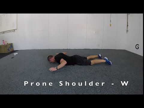 Prone Shoulder - W