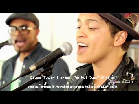[Sub Thai] The Lazy Song - Bruno Mars