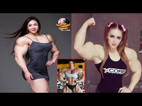 Cantik Sih WAJAHnya, Tapi Lihat TUBUHnya! 5 Wanita BEROTOT Paling KEKAR di Dunia!!