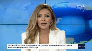 Lajmet qendrore 19:30 31.08.2020