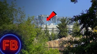 NEW VIEWS of Galaxys Edge around Rivers of America