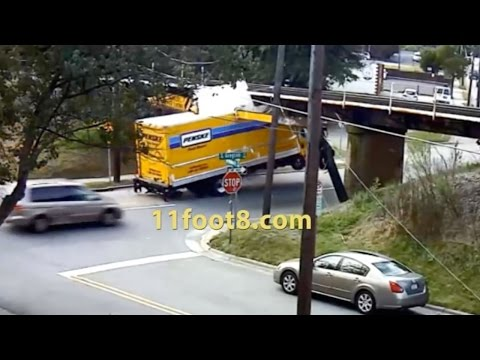 The Definitive 11Foot8 Bridge Crash Compilation - At least you're not these people.