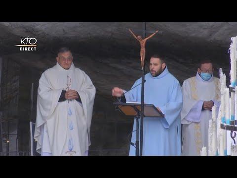 Messe de 10h à Lourdes du 19 mars 2021