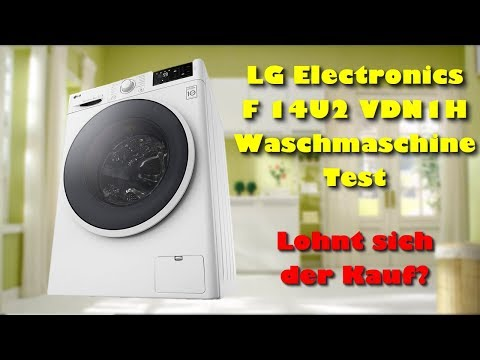 LG Electronics F 14U2 VDN1H Waschmaschine Test - Lohnt sich die LG Waschmaschine zu kaufen?