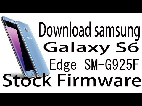 Download Samsung Galaxy S6 edge SM-G925F Stock Rom
