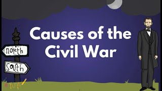 Causes Of The American Civil War - Educational Social Studies Video For Elementary Students & Kids
