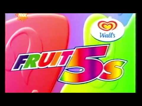 Wall's Fruit5s Website UK 2002 Advert