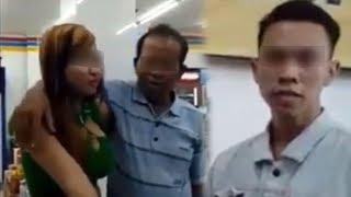 Video Klarifikasi Wanita yang Dicium Pria Beristri di Mini Market, Viral hingga Permalukan Keluarga