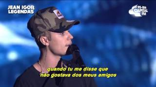 Justin Bieber - Love Yourself (Legendado-Tradução) [ACOUSTIC]