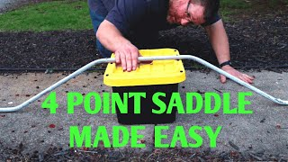 How To Bend A 4 Point Saddle