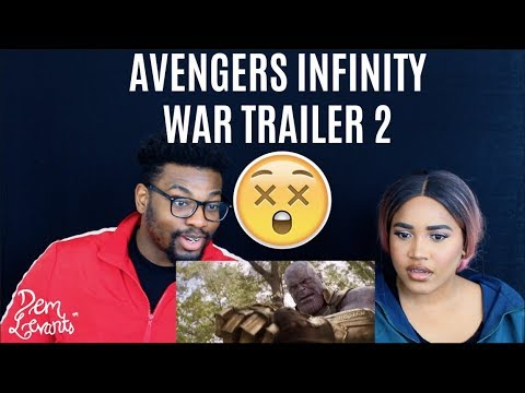 Marvel Studios' Avengers: Infinity War - Official Trailer 2| REACTION