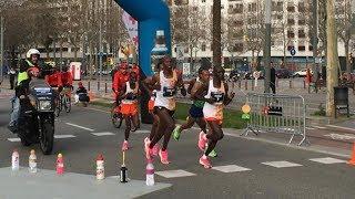 Barcelona Half Marathon 2020 – Last Kilometres