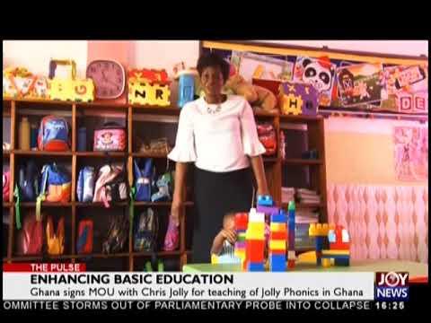 Enhancing Basic Education - The Pulse on JoyNews (5-9-18)