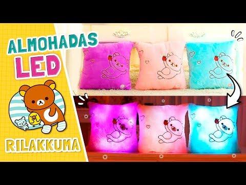 KAWAII: ¡ALMOHADAS LED de RILAKKUMA! ☆ Fabbi Lee