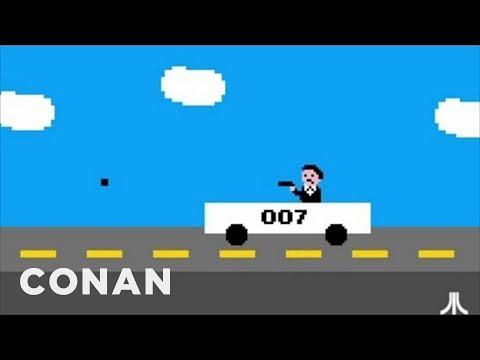 Conan O'Brien Shows Us The Atari Games We'll Never Get To See
