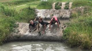 Weekend I-Fit 2017, obstacle run Biddinghuizen