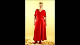 бордовые платьица для полных женщин подходят для подчеркивания стиля!