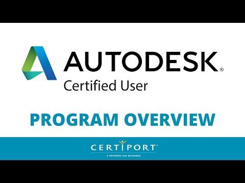 Autodesk Certified User (ACU) Program Overview - YouTube