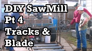 DIY Sawmill Pt 1: Homemade, Cheap, Simple 36