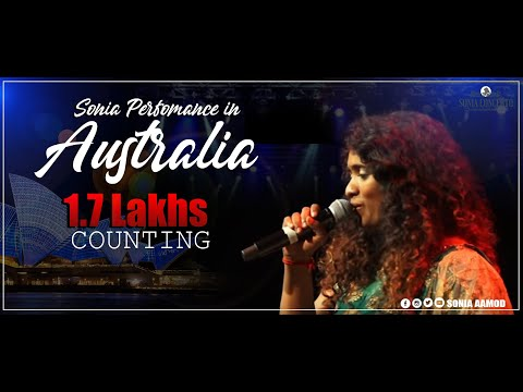 Super Singer Sonia| soul-stirring perfomance |Sydney | Audience request | Australia | Soni Aamod
