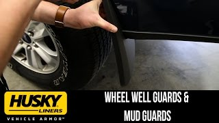 In the Garage™ with Total Truck Centers™: Husky Liners™ Mud Guards & Wheel Well Guards