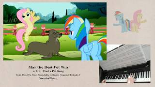 May the Best Pet Win (Find a Pet Song) - Piano accompaniment