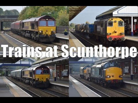 Locomotives at Scunthorpe 26th October 2016