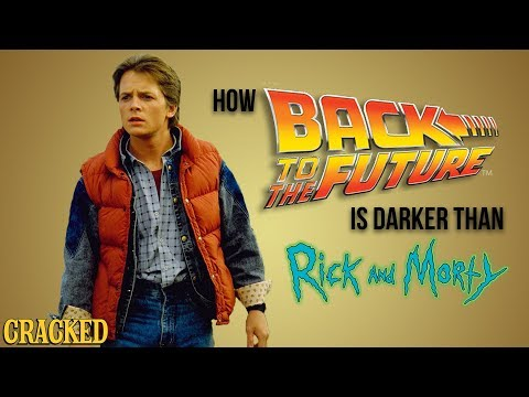 How Back To The Future is Darker Than Rick And Morty