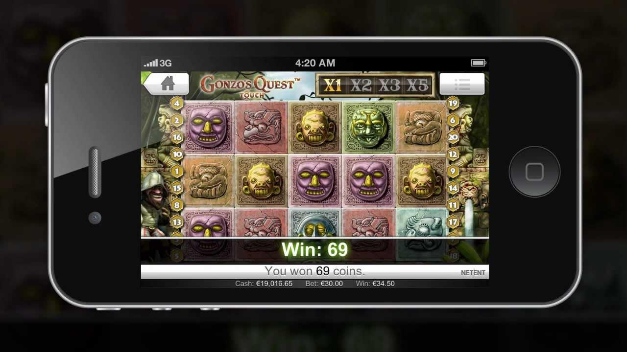 Gonzo's Quest från NetEnt