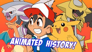The Animated History of Every Pokémon Game