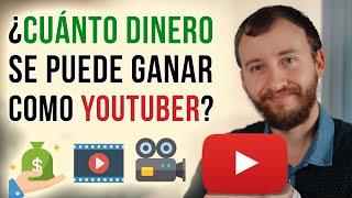 Video: ¿Cuánto Se Gana REALMENTE Como YouTuber?