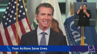 Gov. Gavin Newsom outlines latest phase of reopening California