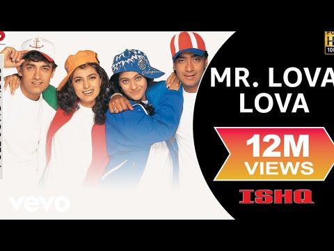 Mr. Lova Lova Full Video - Ishq|Aamir Khan|Ajay Devgan|Kajol|Juhi|Udit Narayan, Abhijeet