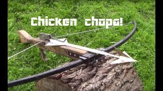1000lb crossbow anti-chicken bolt