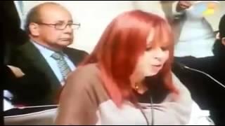 PARTICIPACIÓN DE LAYDA SÁNSORES EN LA COMPARECENCAI DE CHUAYFFET  EN LA CÁMARA DE SENADORES