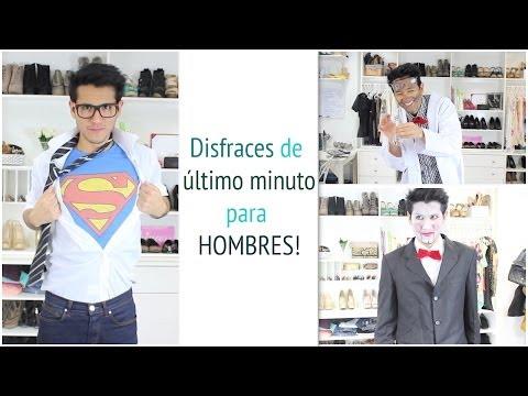 Disfraces de último minuto para HOMBRES!