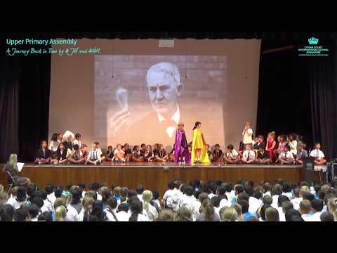 Upper Primary Assembly: A Journey Back in Time by 4JM and 4MH