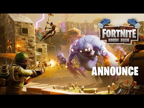 Horde Bash Announce Trailer