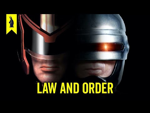 Who is the Law? Robocop vs. Judge Dredd
