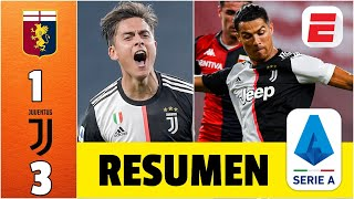 Genoa vs Juventus RESUMEN Serie A | GOLAZOS de Cristiano Ronaldo, Paulo Dybala y Costa | Exclusivos