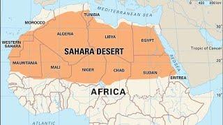 Zielona Sahara. Zaginione Miasta.