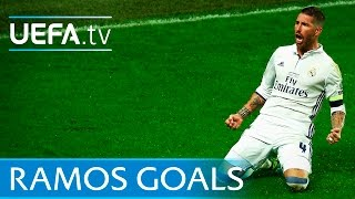 Sergio Ramos: 5 memorable goals