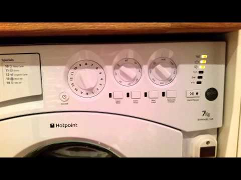 Hot point BHWMXL 145 washing machine review