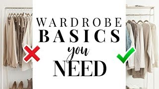 15 Wardrobe Essentials You Actually NEED! *ultimate guide*
