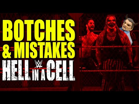 8 Wrestling Fails & Botches WWE Hell In A Cell 2019