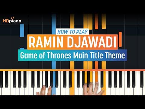 "How To Play ""Game of Thrones Main Title Theme"" by Ramin Djawadi | HDpiano (Part 1) Piano Tutorial"