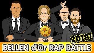 🌟Ballon d'Or 2018 RAP BATTLE🌟 Modric! Ronaldo! Messi Griezmann! Mbappe! Salah!