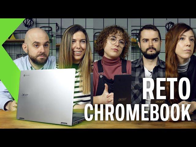 5 PROFESIONALES Y 1 CHROMEBOOK ¿Podrán trabajar con él? | RETO XATAKA