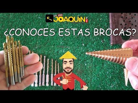 BROCAS ECONÓMICAS ( Escalonadas, fresadoras y normales).