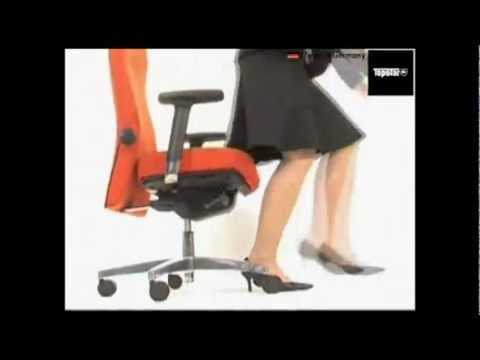 Bürostuhl Topstar Profi Star 30 PS39DW50, Bezug: Stoff, schwarz